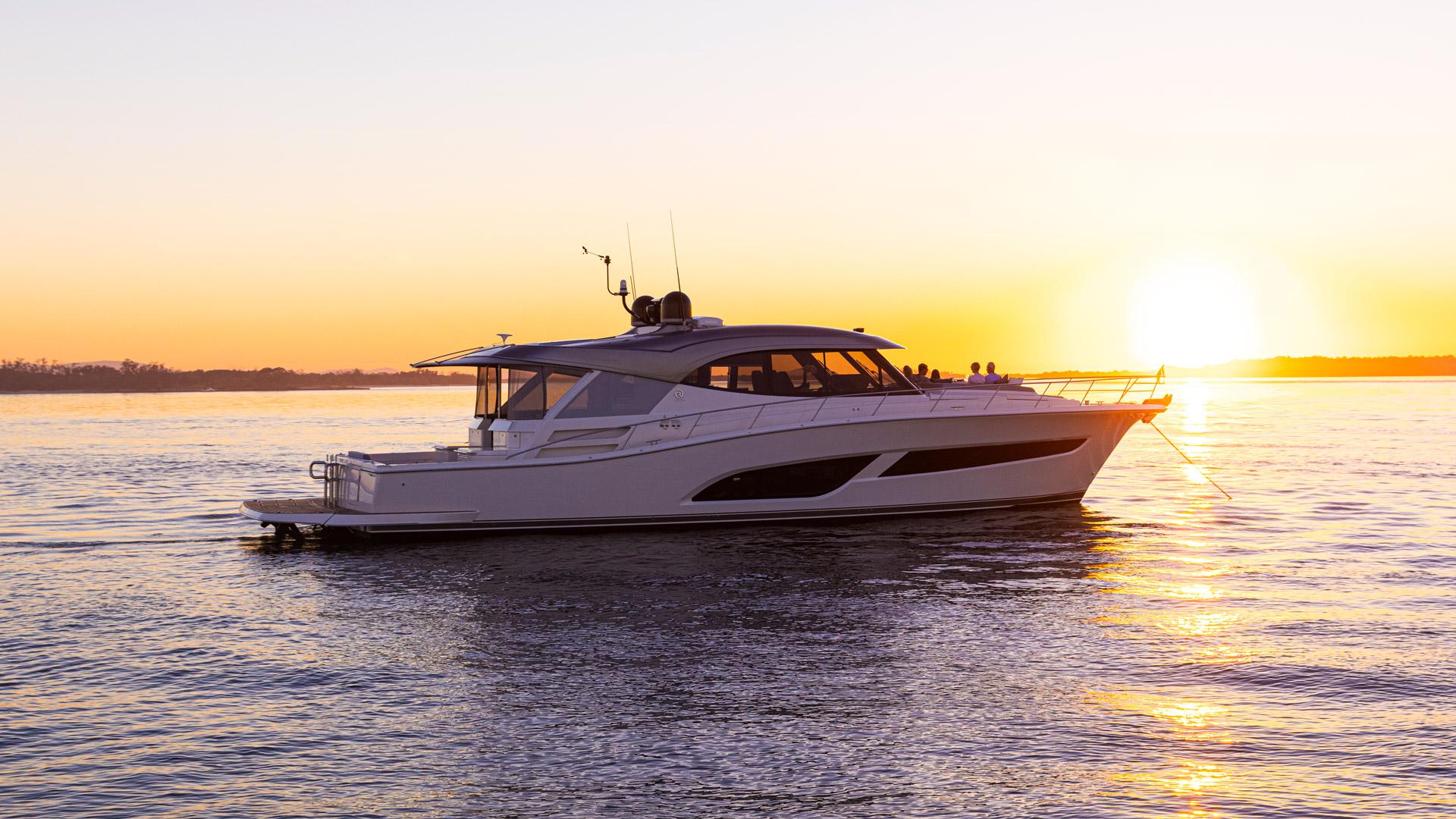 Riviera 645 SUV Anchored Sunset 02