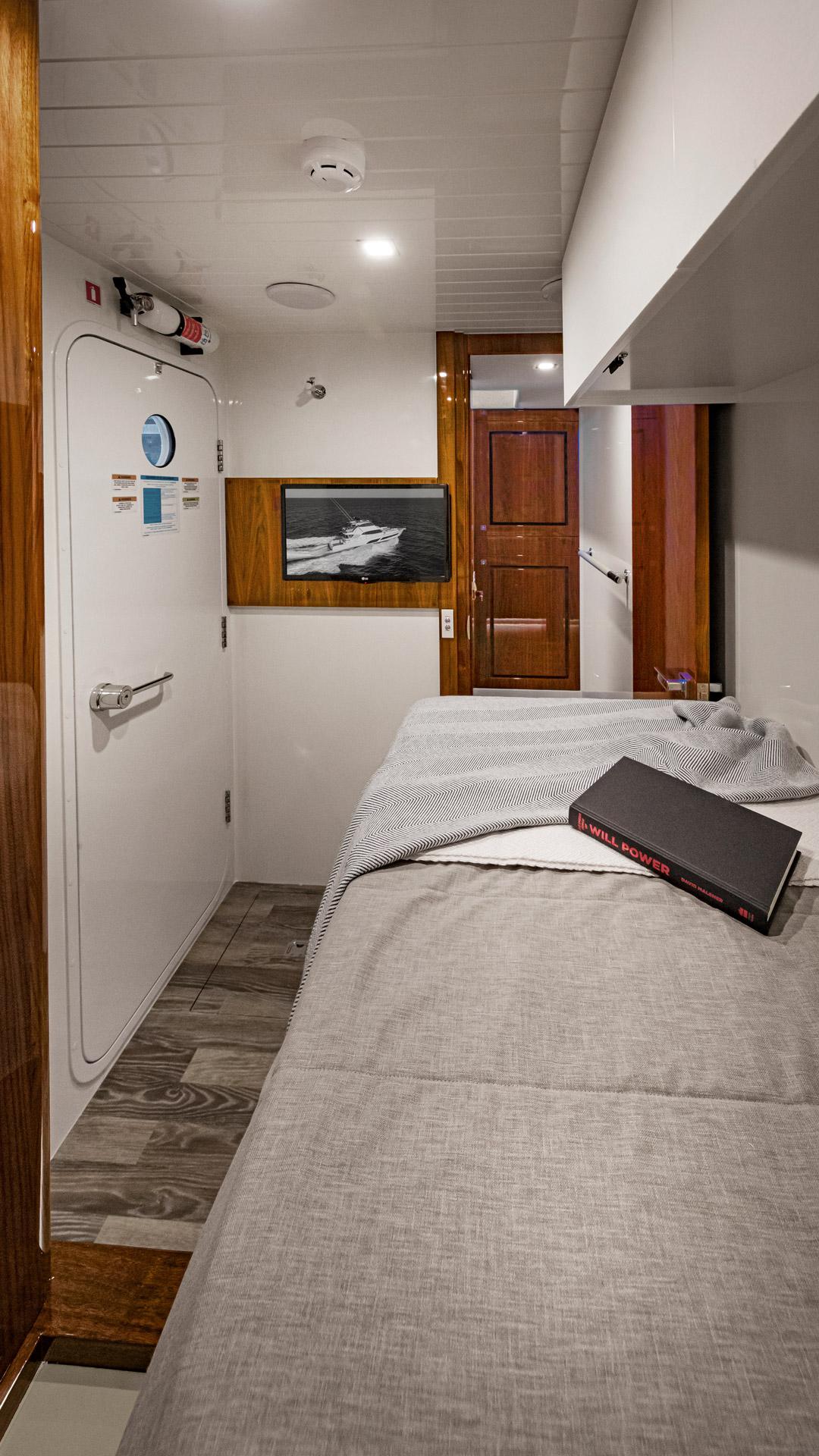 Riviera 72 Sports Motor Yacht Crew Cabin 01