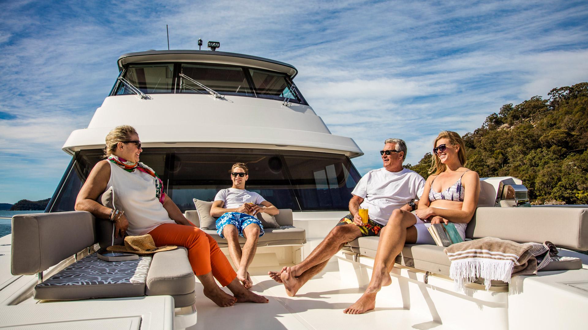 Riviera 72 Sports Motor Yacht Foredeck 03