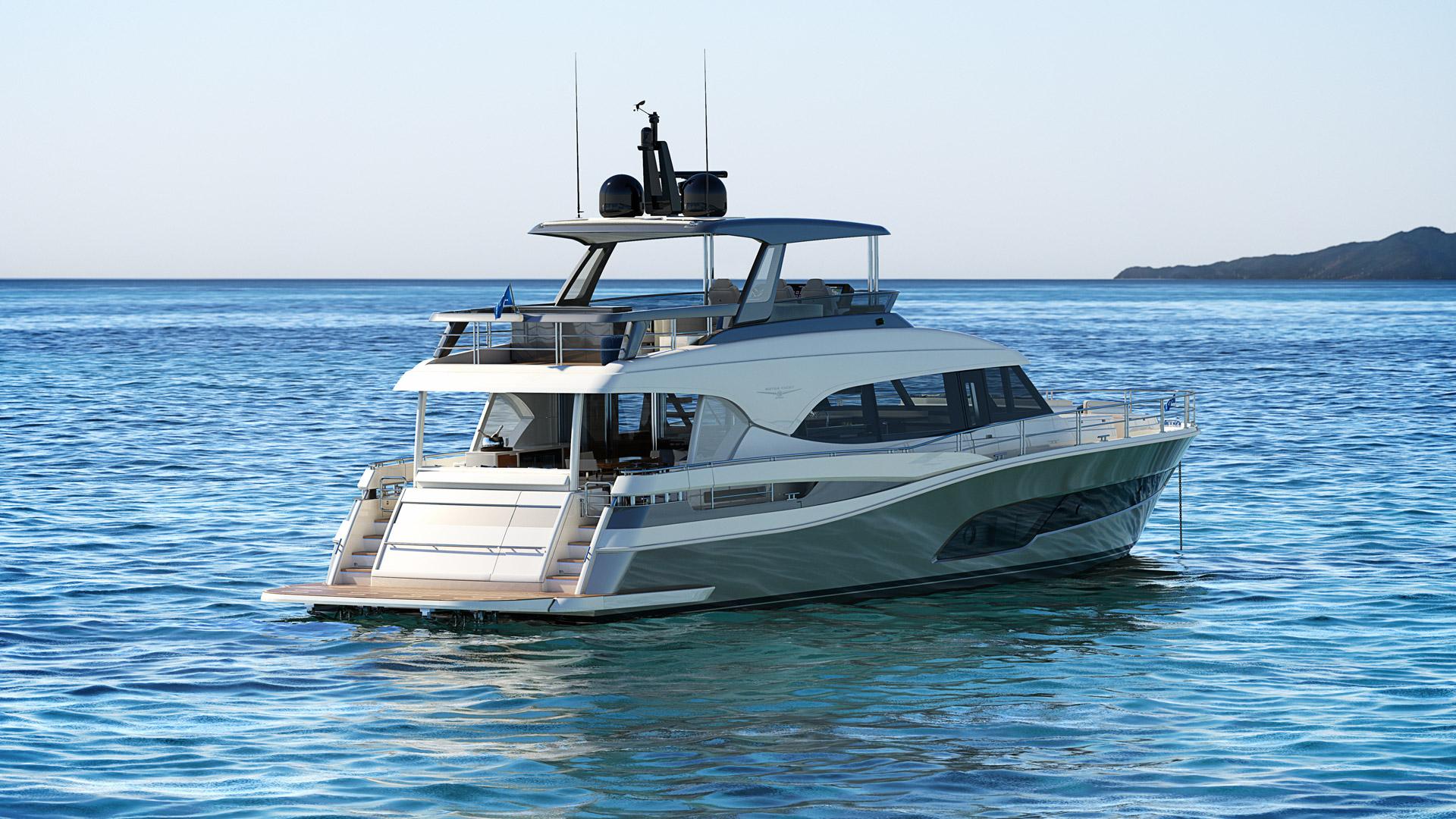 Riviera 78 Motor Yacht Open Flybridge 04 logo